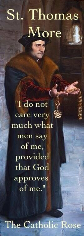 St. Thomas More on the Opinions of Men
