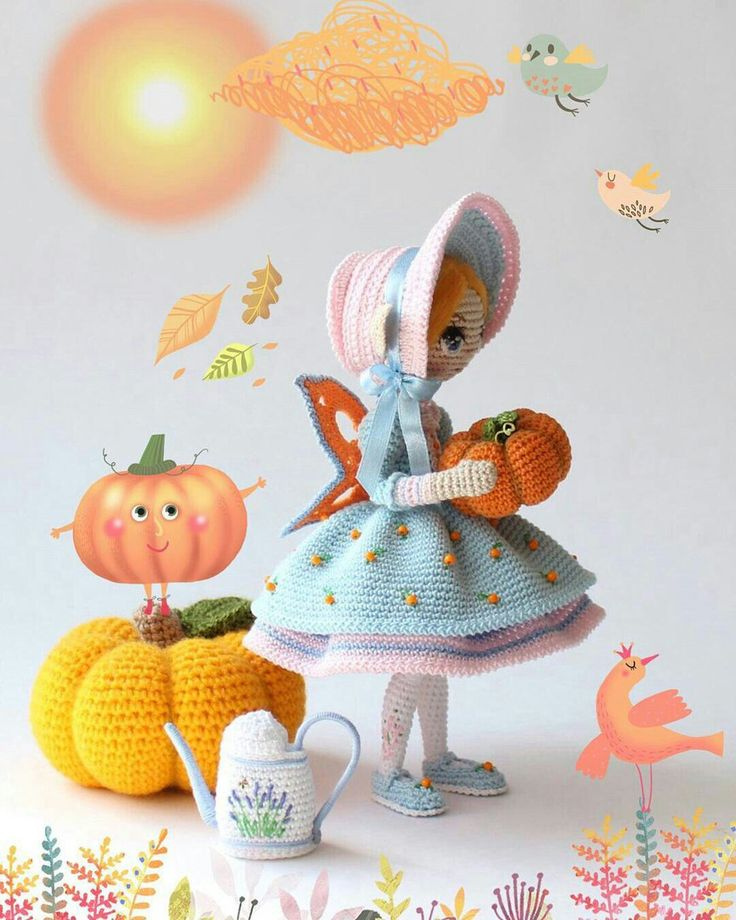 Beauty and Things (Вязаная игрушка, амигуруми)