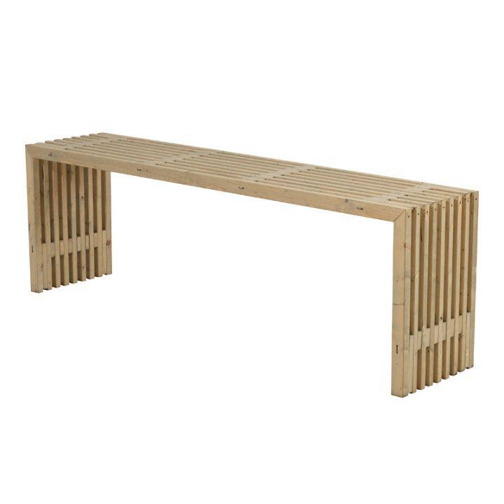 Trallbord Rustik Design Drivvedsfargad 218x49x72cm Cafebord Bord