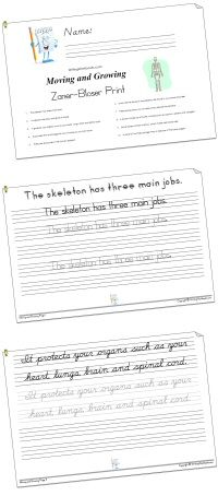 Handwriting Workbooks: BEST handwriting website - tons of printable worksheets and workbooks on a variety of topics, all available in 4 different fonts for students to practice! You can also make your own worksheets!!