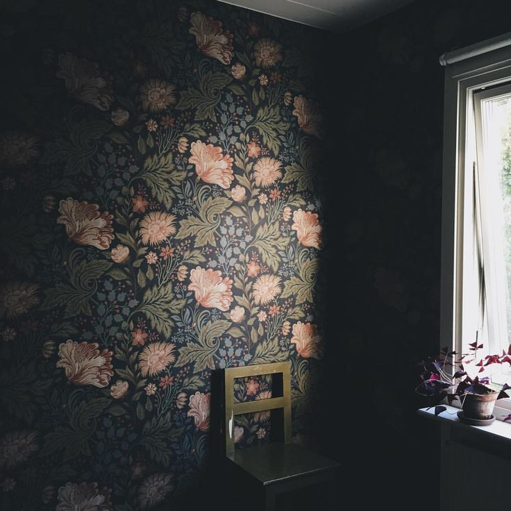 Wallpaper. Photo from Babes in Boyland.
