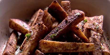 Parsnips with Moroccan Spices