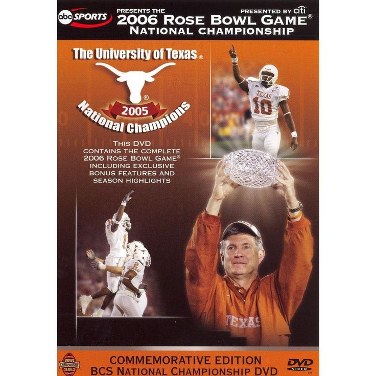 2006 Rose Bowl Game: National Championship - Texas vs. USC