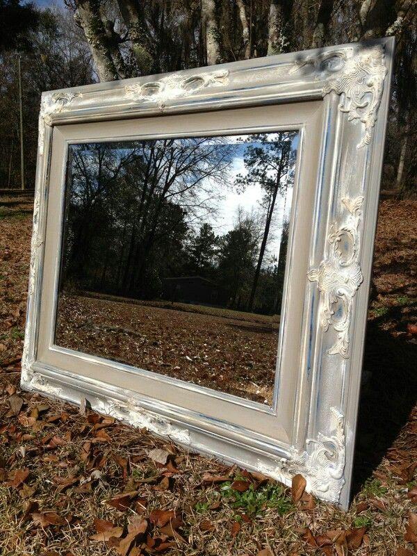 25 Best Ideas About Chalk Paint Mirror On Pinterest