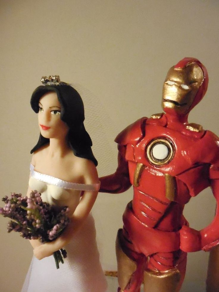 iron man wedding cake topper wedding cake toppers cake toppers and on 16492