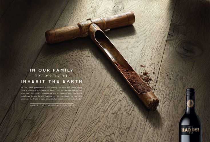 Hardys Wine: Soil | Ads of the World™