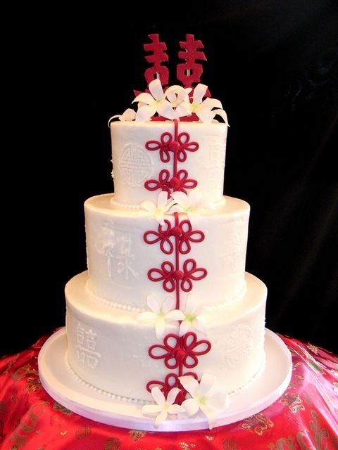 chinese themed Wedding Cake| http://weddingcake904.blogspot.com