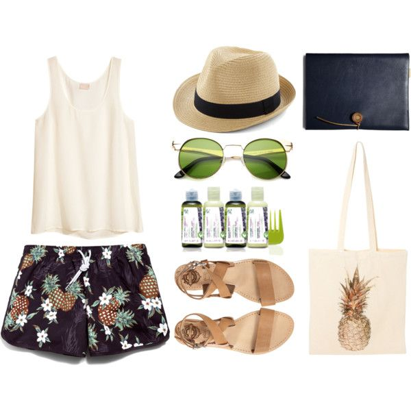 """""""ANANAS LOOK"""" by susisaval on Polyvore"""