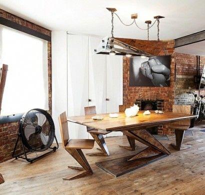 Viele Menschen Lieben Das Loft Design. Doch Sie Verbinden Es Mit  Industriellen Zonen Und Verwerfen Es Als Idee. Loft Möbel Sind, Erstens,  Nicht So Schwierig