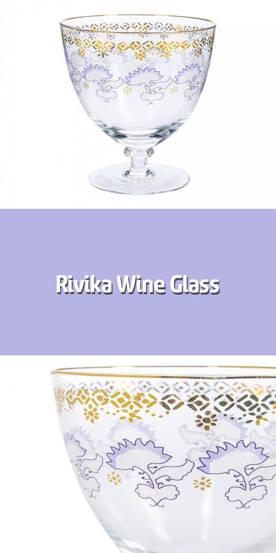 Rivika Wine Glass Wine Glass Material Glass Dimensions
