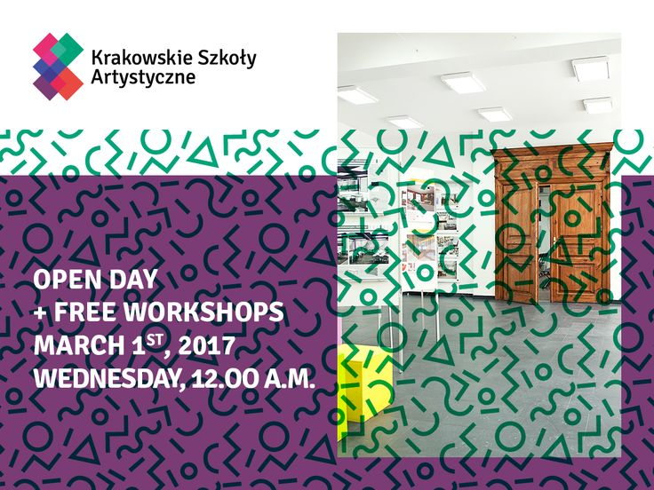 Open Day at Cracow School of Art and Fashion Design -> bit.ly/DzieńOtwartyKSA