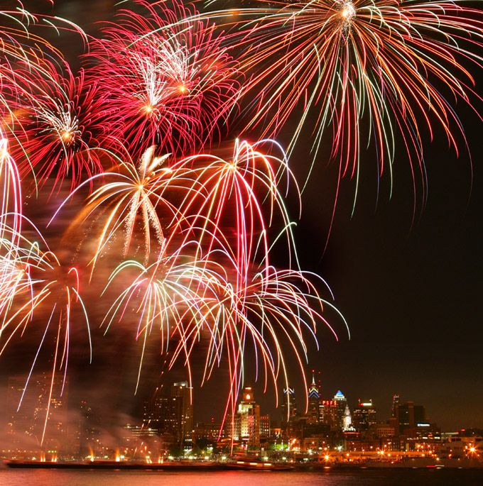 July 4th Fireworks In Philadelphia: Our Guide To The Three Main Fireworks Displays On July 2, 4 And 6 (Photo by R. Kennedy for GPTMC)