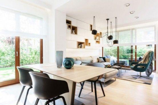 Desain apartemen minimalis dengan ruang penyimpanan kreatif