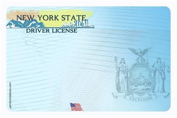 Drivers License Template Madinbelgrade Drivers License Ca Drivers License Id Card Template
