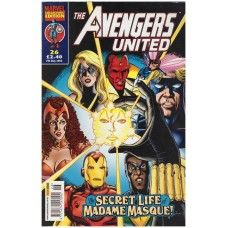 The Avengers United #26 from Marvel/Panini Comics UK. 7th May 2003 issue. In very good condition internally and cover. Bagged and boarded. £2.00