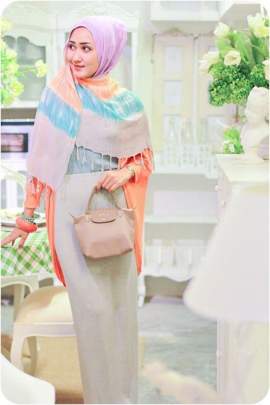Gaya Hijab Untuk Pesta Dian Pelangi