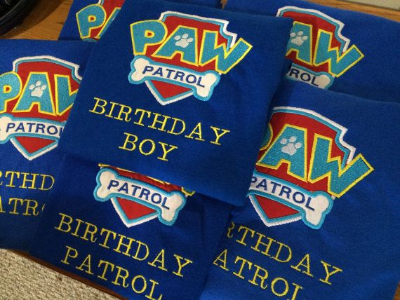 SALE Paw Patrol shirt inspired personalized by MamasLittleWorkshop