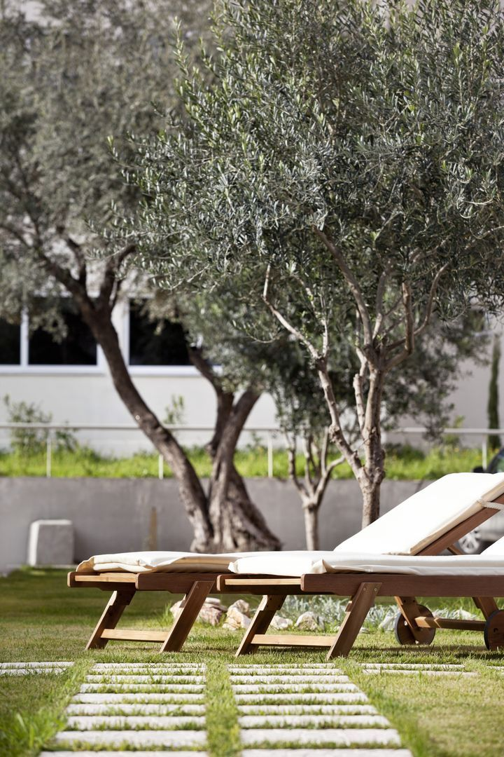 Our sunbeds next to our swimming pool. #CivitelAttik #Relax #CivitelHotels