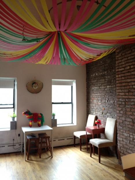 crepe paper ceiling party themes pinterest