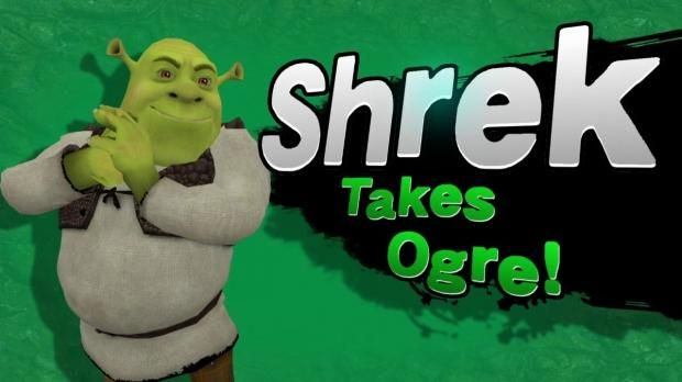 Shrek Has Joined The Fight In Super Smash Bros Ultimate Smash