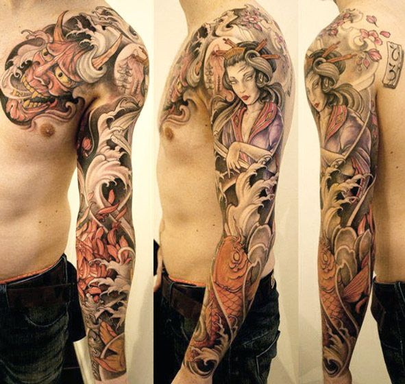 Tattoo Artist Johan Finné Www Worldtattoogallery Sleeve Tattoos