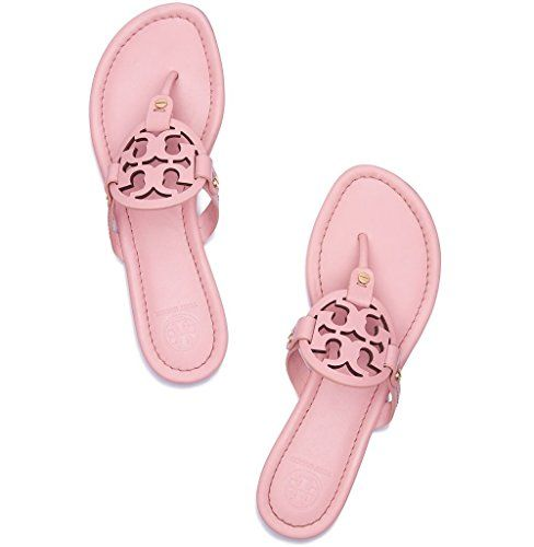 TORY BURCH Tory Burch Miller Metallic Sandal Womens. #toryburch #shoes  #flip-