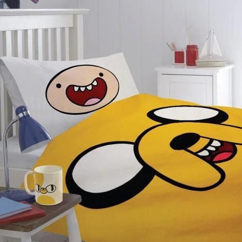Fin and Jake bed <3