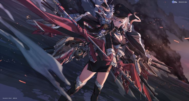 Miv4t On Twitter Anime Anime Wallpaper Bismarck