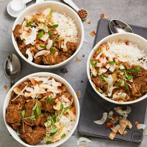 Coconut Lamb Curry — alyce alexandra