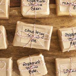 Nothing Better Than Pretty Wred Up Ready To Go Homemade Soaps For Friends And Family