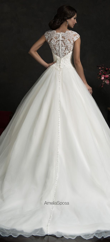 Amelia Sposa 2015 Wedding Dress - Monica - Belle The Magazine                                                                                                                                                                                 More