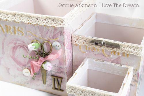 Calico Craft Parts: ATB Desk Tidy by Jennie