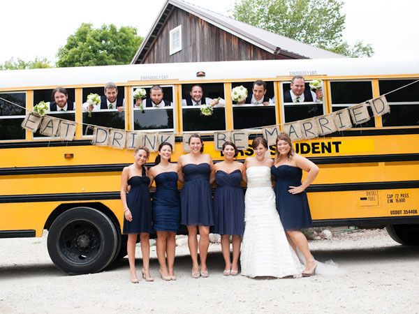 We Love The Nostalgic Fun Of This Wedding Transportation