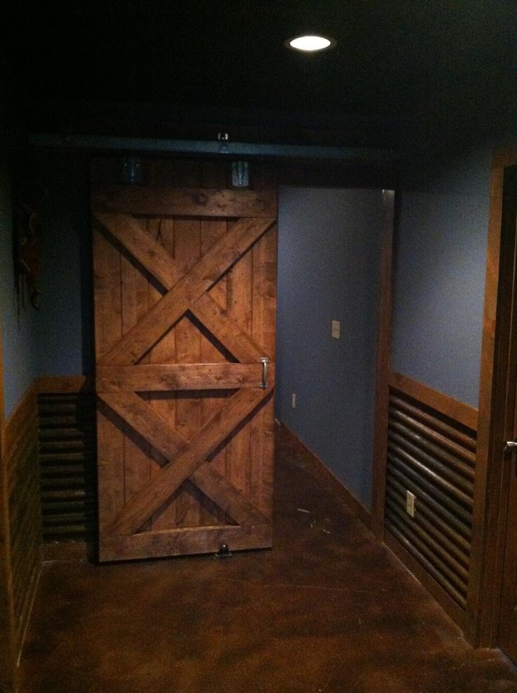 Basement Bathroom Barn Door 2 Quot X6 Quot Usa Lumber From Lowes