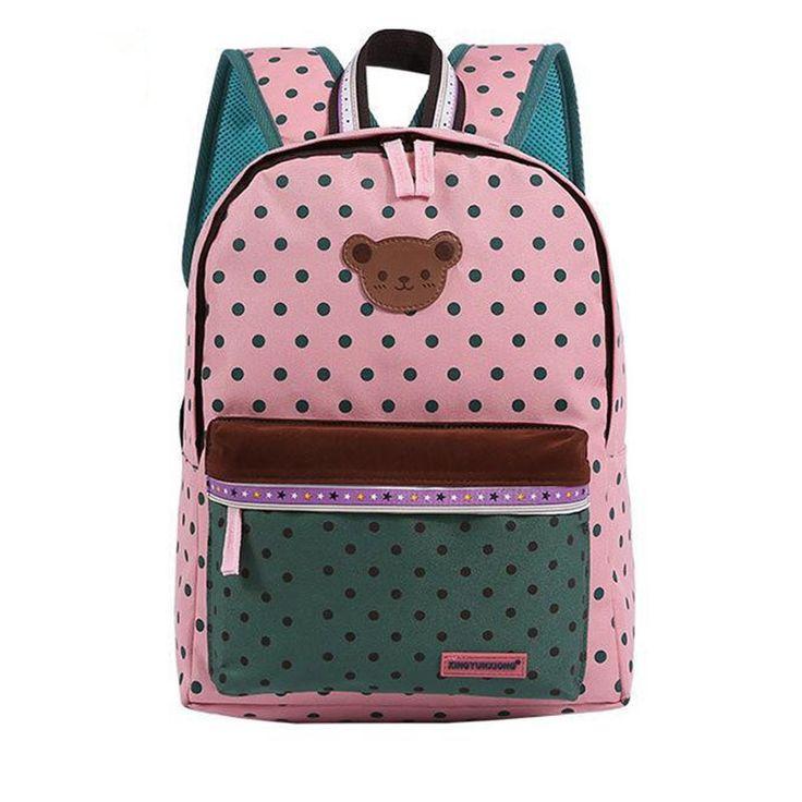 Cute Bear Children School Bags //Price: $23.38 & FREE Shipping // #glamour #girl  #bagsdesigns