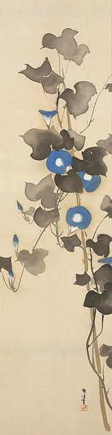 Morning Glories - Kamisaka Sekka (ca. 1920-1940). Minneapolis Institute of Art.