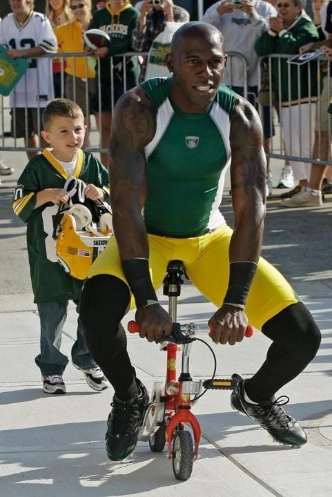 Donald Driver continues a great tradition at Packers training camp, somewhat humorously.