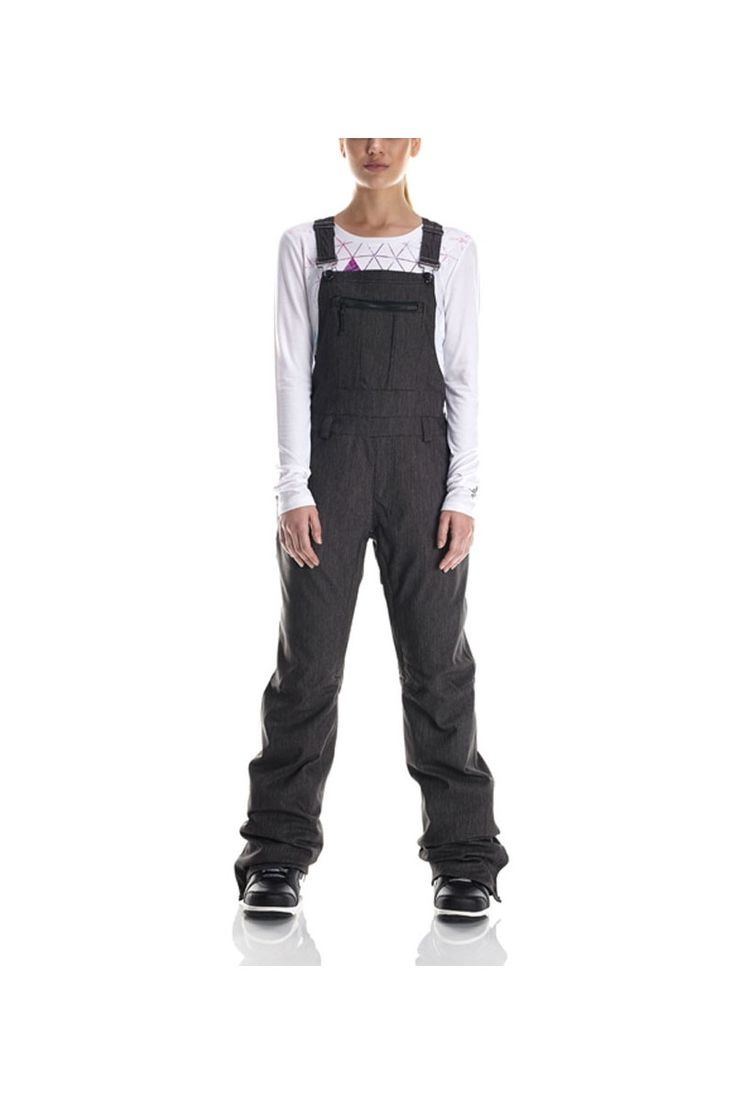 There's overalls and then there's the 2017 686 Women's Parklan Black Magic Snowboard Pant Overall, which are A LOT cooler.