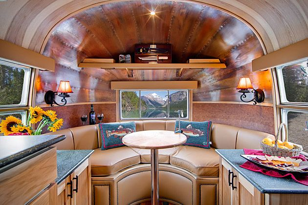 Custom Airstream TrailerThe Roads, Trailers Interiors, Mobiles Home, Vintage Airstream, Fly Fish, Airstream Interiors, Caravan Interiors, Travel Trailers, Airstream Trailers