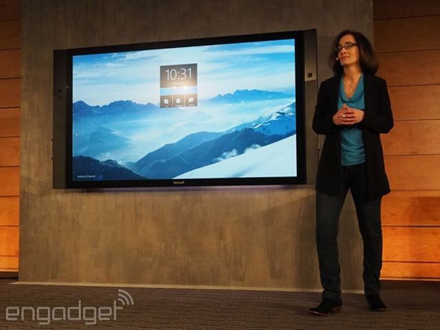 Surface Hub Is An 84-Inch Monste