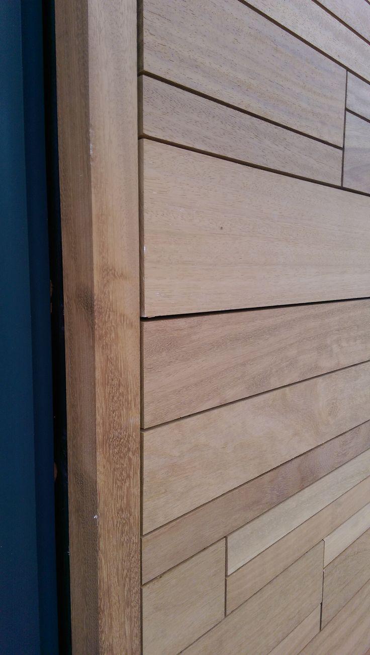 Iroko cladding detail | Riverside House | Henley | Adlon Construction