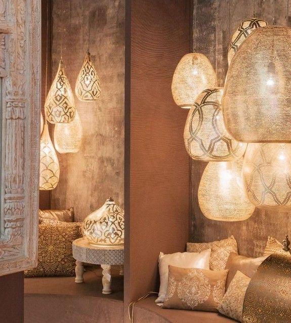 Dekorationen Im Orientalischen Stil Gab Es Auf Der Messe Tendence In Frankfurt Allerdings Unaufgeregt Ton
