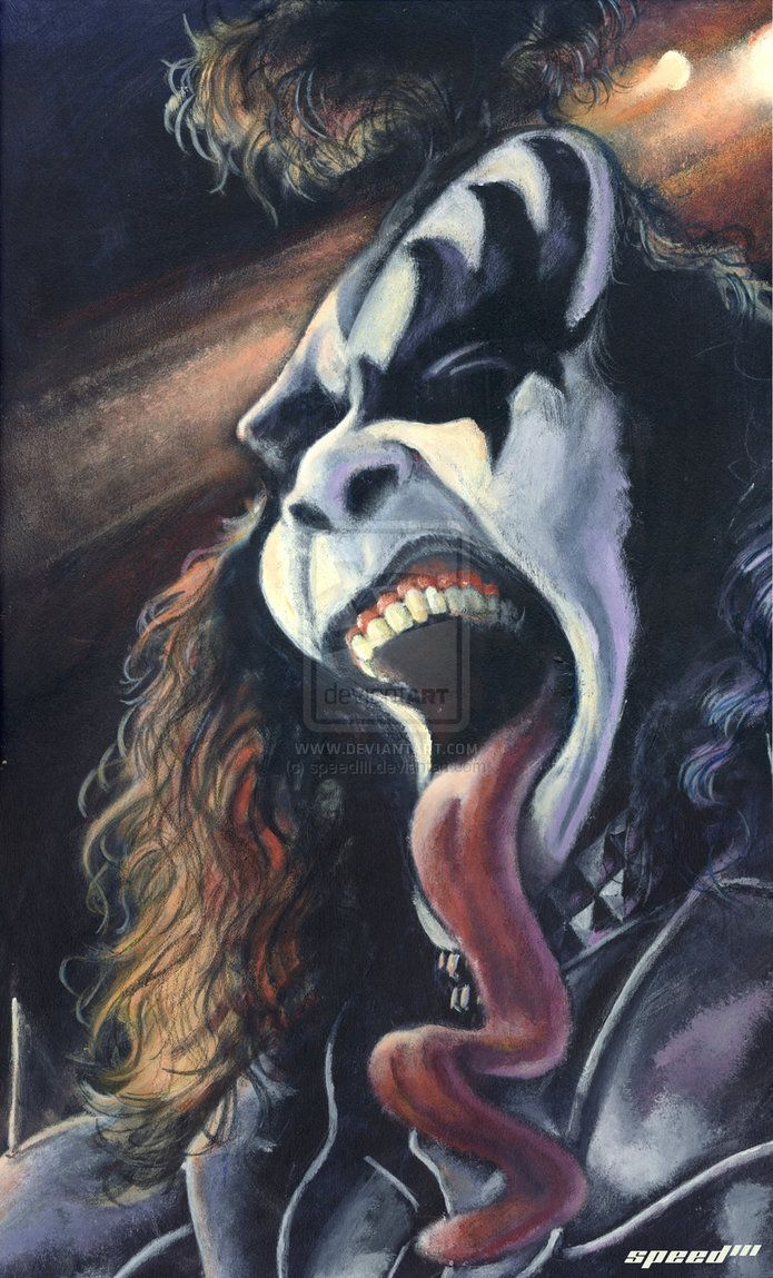 Gene Simmons  (by ~speedIII)  ...FOLLOW THIS BOARD FOR GREAT CARICATURES OF PEOPLE WE KNOW..I'LL BE ADDING NEW PINS DAILY..