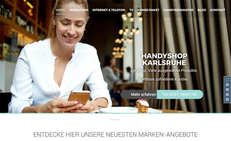 Handyshop Karlsruhe by Salsaland  http://www.csslight.com/website/19961/Handyshop-Karlsruhe