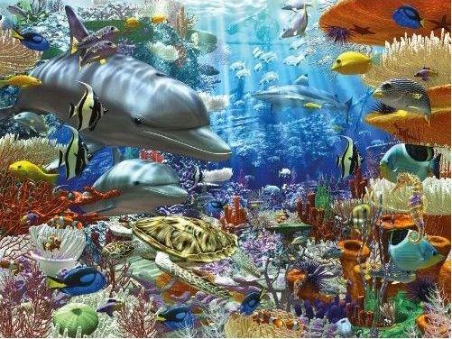 Puzzle Vie Sous Marine Ravensburger 16273 1500 Pices Puzzles