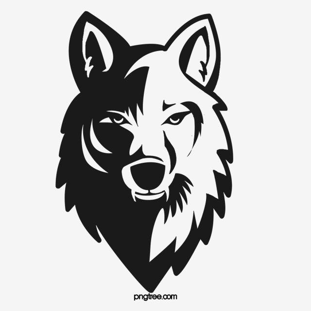 Black Wolf Head Company Corporate Culture Wolf Head Drawing Black Wolf Wolf Artwork
