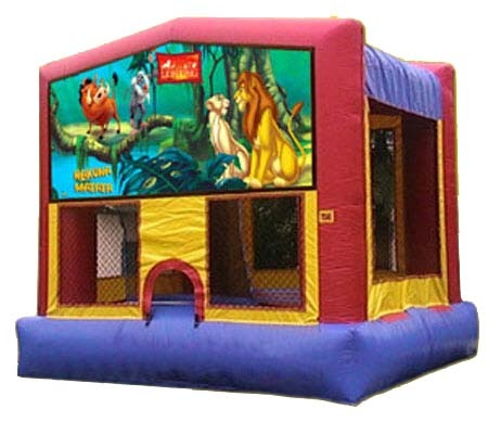 Lion King Bouncy House