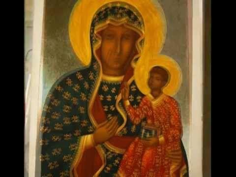 Proces pisania ikony Matki Boskiej Częstochowskiej