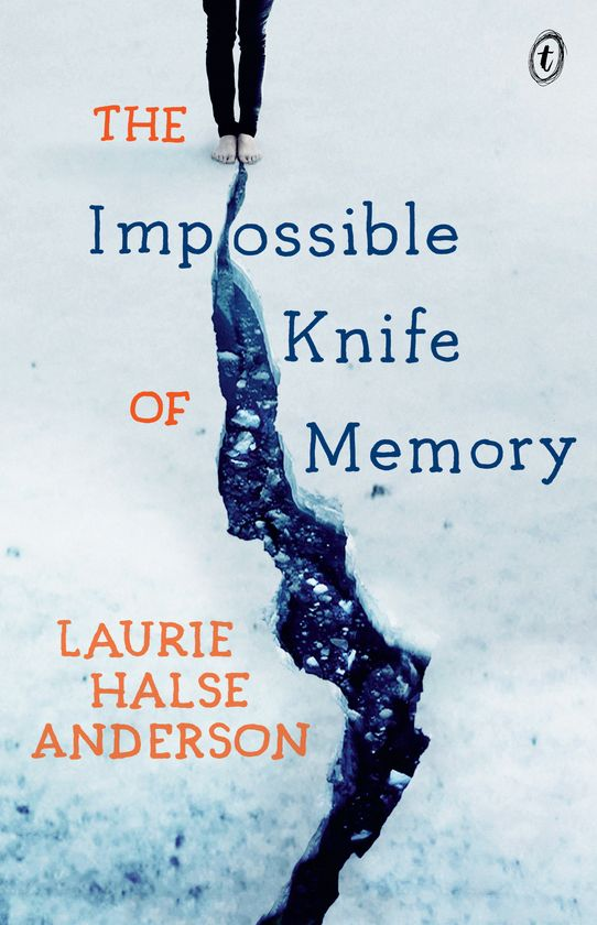 The Impossible Knife of Memory by Laurie Halse Anderson. For the past 5 years Hayley and her father have been on the road, never staying long in one place as he struggles to escape the demons that have tortured him since his return from Iraq. Now they are back in town where he grew up so Hayley can go to a proper school. Perhaps, for the first time, Hayley can have a normal life, put aside her own painful memories, even have a relationship with Finn, the hot guy . . .