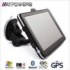 "[ 23% OFF ] Universal 7"" Screen Hd Car Gps Navigation 800Mhz Cpu 256Mb Ram 8Gb Flash Sat Nav + Bluetooth + Av-In + Fmt + Mp3 4 Free Maps"